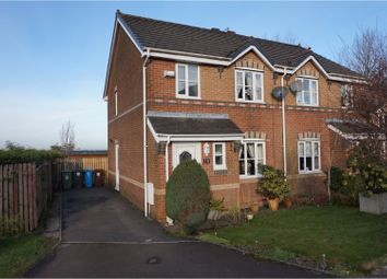 Thumbnail 3 bed semi-detached house for sale in Flaxman Rise, Oldham