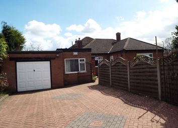 Thumbnail 3 bed bungalow for sale in Stanneylands Drive, Wilmslow, Cheshire
