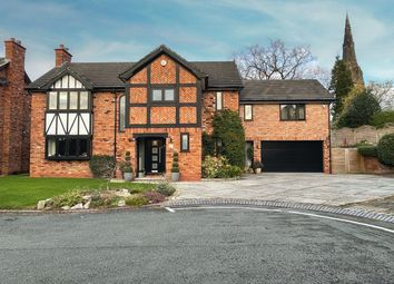 Thumbnail 4 bed detached house for sale in Meadow Brow, Alderley Edge