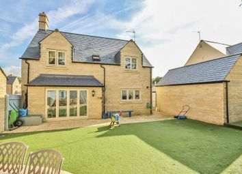 Thumbnail 4 bed detached house for sale in Pips Field Way, Fairford, Gloucestershire.
