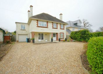 Thumbnail 4 bed detached house for sale in Elms Avenue, Lilliput, Poole, Dorset