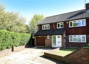 Thumbnail 5 bed semi-detached house for sale in Hayfield Close, Bushey