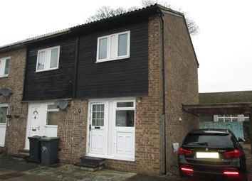 Thumbnail 1 bed end terrace house to rent in Poplar Close, Sandy