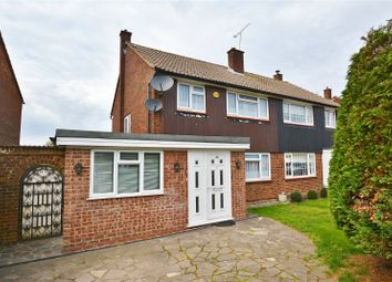 Thumbnail 3 bed semi-detached house for sale in Cornfield Road, Bushey, Hertfordshire