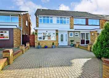 Thumbnail 4 bed semi-detached house for sale in Ozonia Avenue, Wickford, Essex