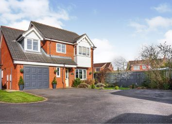 Thumbnail 4 bed detached house for sale in Lealand Close, Laceby