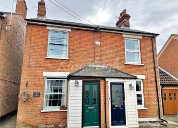 Thumbnail 3 bed semi-detached house for sale in Mission Lane, East Bergholt, Colchester