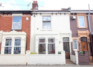 Thumbnail 3 bed terraced house to rent in Folkestone Road, Portsmouth
