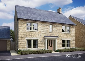 Thumbnail 4 bed detached house for sale in Pickwick Park, Park Lane, Corsham