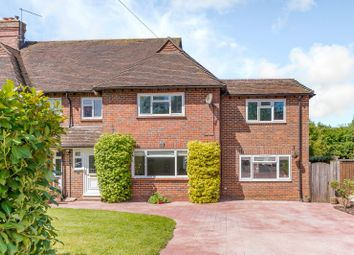 Thumbnail 4 bedroom semi-detached house for sale in Hullmead, Shamley Green, Guildford