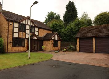 Thumbnail 4 bed detached house for sale in Wentworth Green, Kirby Muxloe
