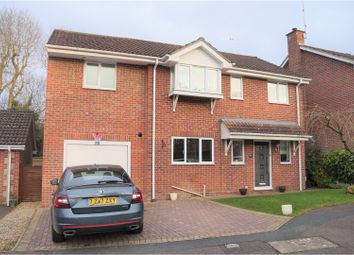 Thumbnail 4 bedroom detached house for sale in Darcey Close, Swindon