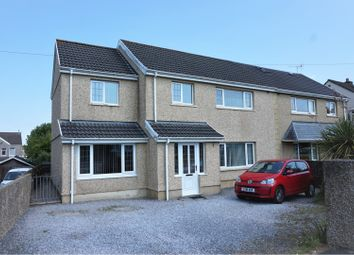 Thumbnail 4 bed semi-detached house for sale in Cecil Road, Gowerton