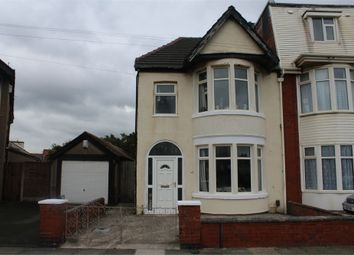 Thumbnail 3 bed semi-detached house for sale in Ventnor Road, Blackpool, Lancashire