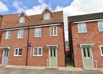 Thumbnail 3 bed semi-detached house for sale in Kingscroft Drive, Brough