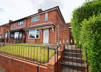 Thumbnail 3 bed semi-detached house for sale in East Crescent, Sneyd Green, Stoke-On-Trent