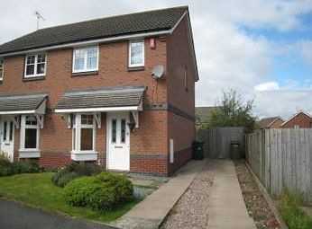 Thumbnail 2 bed property to rent in Viaduct Drive, Dunstall, Wolverhampton