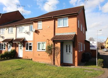 Thumbnail 1 bedroom end terrace house for sale in Marsom Grove, Luton