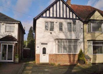 Thumbnail 3 bedroom semi-detached house to rent in Croft Road, Yardley, Birmingham