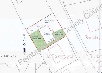 Thumbnail Land for sale in Building Plot Adj. To Cartrefle, Tegryn, Llanfyrnach, Pembrokeshire