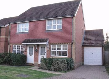 Thumbnail 2 bed semi-detached house to rent in Dove Close, Kingsnorth, Ashford, Kent