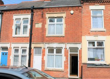 Thumbnail 3 bed terraced house to rent in Grove Road, Leicester