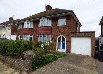 Thumbnail 3 bedroom semi-detached house for sale in Southfield Road, Duston Village, Northampton, Northamptonshire