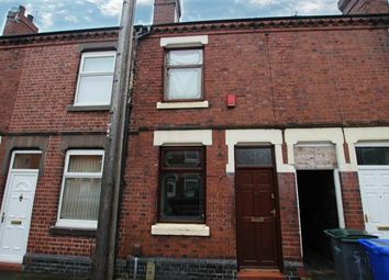 Thumbnail 3 bed terraced house for sale in Hines Street, Heron Cross, Stoke-On-Trent