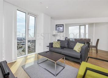 Thumbnail 3 bed flat to rent in Sky View Tower, 12 High Street, Stratford