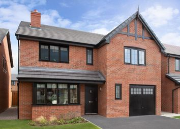 Thumbnail 4 bed detached house for sale in Cheerbrook Gardens Off Cheerbrook Road, Willaston, Nantwich