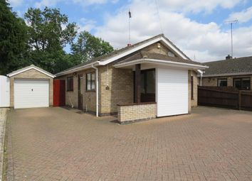 Thumbnail 2 bed detached bungalow for sale in The Orchard, Market Deeping, Peterborough