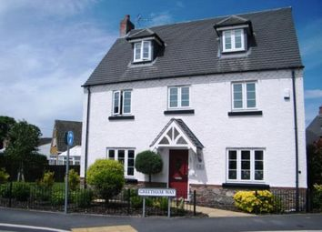 Thumbnail 5 bedroom detached house for sale in Greetham Way, Syston, Leicester, Leicestershire