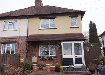 Thumbnail 2 bed semi-detached house for sale in Overwoods Road, Hockley, Tamworth