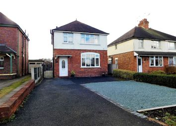 Thumbnail 3 bed detached house for sale in Eccleshall Road, Stafford