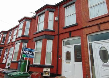 Thumbnail 3 bed terraced house for sale in Raffles Road, Tranmere, Birkenhead