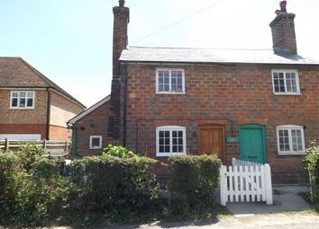 Thumbnail 2 bed semi-detached house for sale in Dene Cottages, Back Road, Sandhurst, Kent