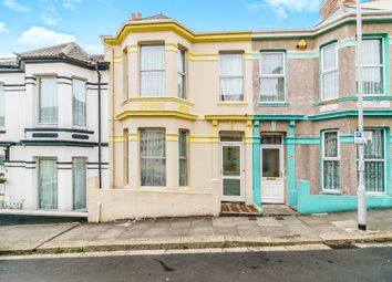 Thumbnail 2 bedroom terraced house for sale in Grafton Road, Mutley, Plymouth