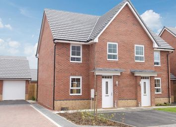 """Thumbnail 3 bed semi-detached house for sale in """"Dewsbury"""" at Dearne Hall Road, Barugh Green, Barnsley"""