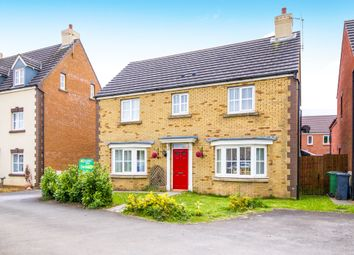 Thumbnail 4 bed detached house for sale in Heol Y Cwrt, North Cornelly, Bridgend