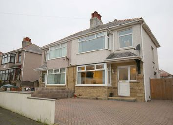 Thumbnail 3 bed semi-detached house for sale in Tranmere Crescent, Heysham, Morecambe
