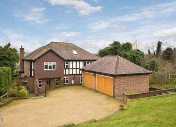 Thumbnail 5 bed detached house to rent in Chelsfield Hill, Chelsfield, Orpington