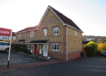 Thumbnail 3 bed semi-detached house for sale in Lower Ridings, Plympton, Plymouth