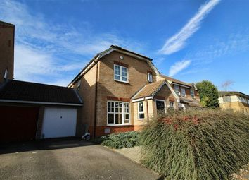 Thumbnail 3 bedroom link-detached house for sale in Milburn Avenue, Oldbrook, Milton Keynes
