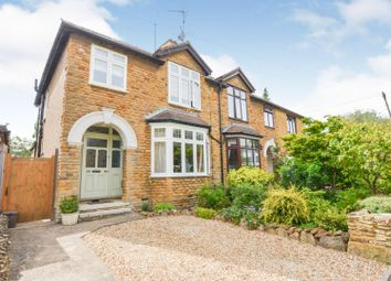 Thumbnail 3 bed semi-detached house for sale in Church Way, Weston Favel, Northampton