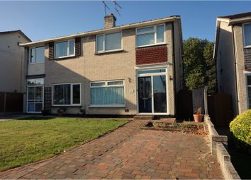 Thumbnail 3 bedroom semi-detached house for sale in Corbets Tey Road, Upminster