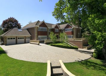 Thumbnail 5 bedroom detached house for sale in Camp End Road, St. Georges Hill, Weybridge