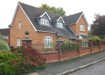 Thumbnail 4 bed detached house to rent in Scholars Green Lane, Lymm