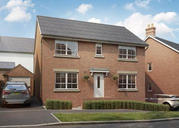 "Thumbnail 4 bedroom detached house for sale in ""Thornton"" at Bevans Lane, Pontrhydyrun, Cwmbran"
