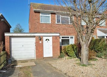 Thumbnail 3 bedroom semi-detached house for sale in Maple Close, Bugbrooke, Northampton