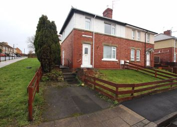 Thumbnail 3 bed semi-detached house to rent in Hunter Avenue, Ushaw Moor, Durham